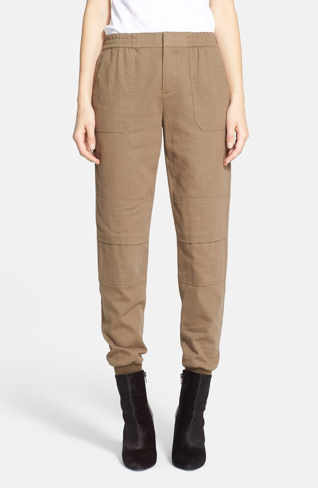 Alternate Image 1 Selected - Vince Flannel Cargo Jogger Pants