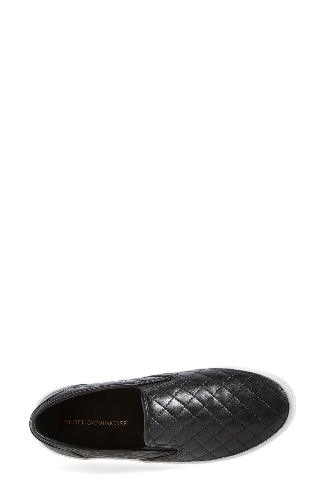 Alternate Image 3  - Rebecca Minkoff 'Sal' Slip-On Leather Sneaker (Women)