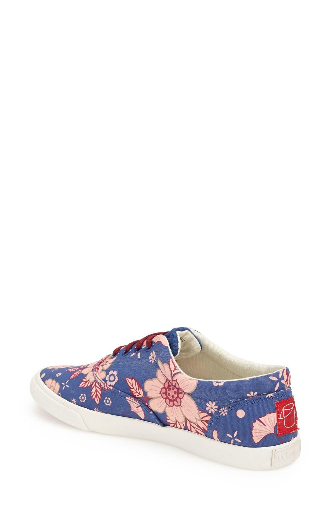 Alternate Image 2  - BucketFeet 'Blue East' Print Sneaker (Women)