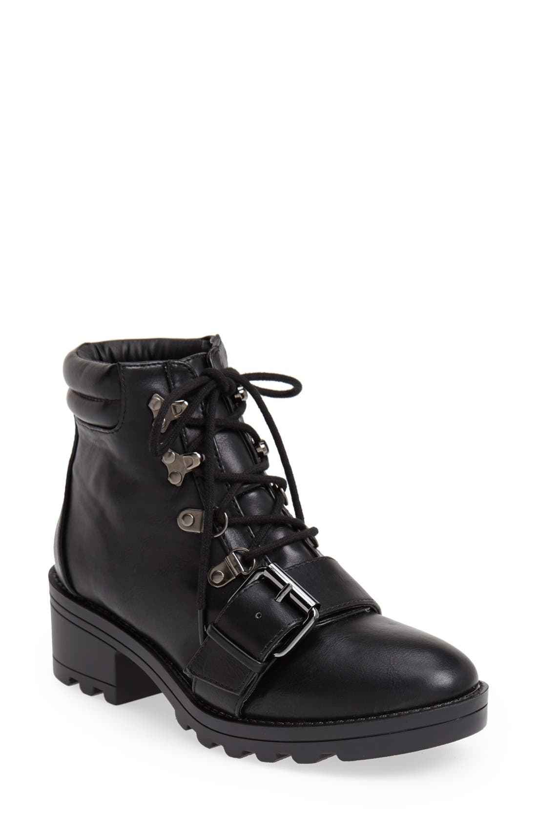 Alternate Image 1 Selected - Topshop Bunk Hiker Boot (Women)