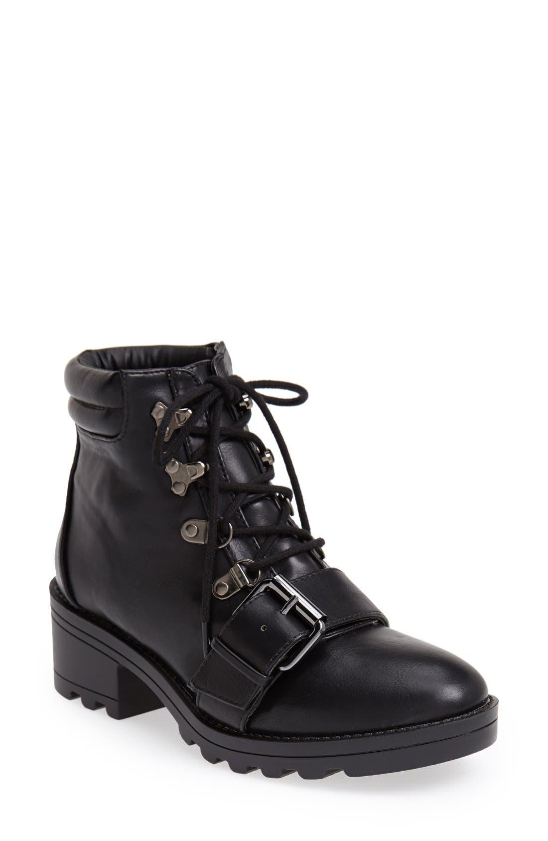 Main Image - Topshop Bunk Hiker Boot (Women)