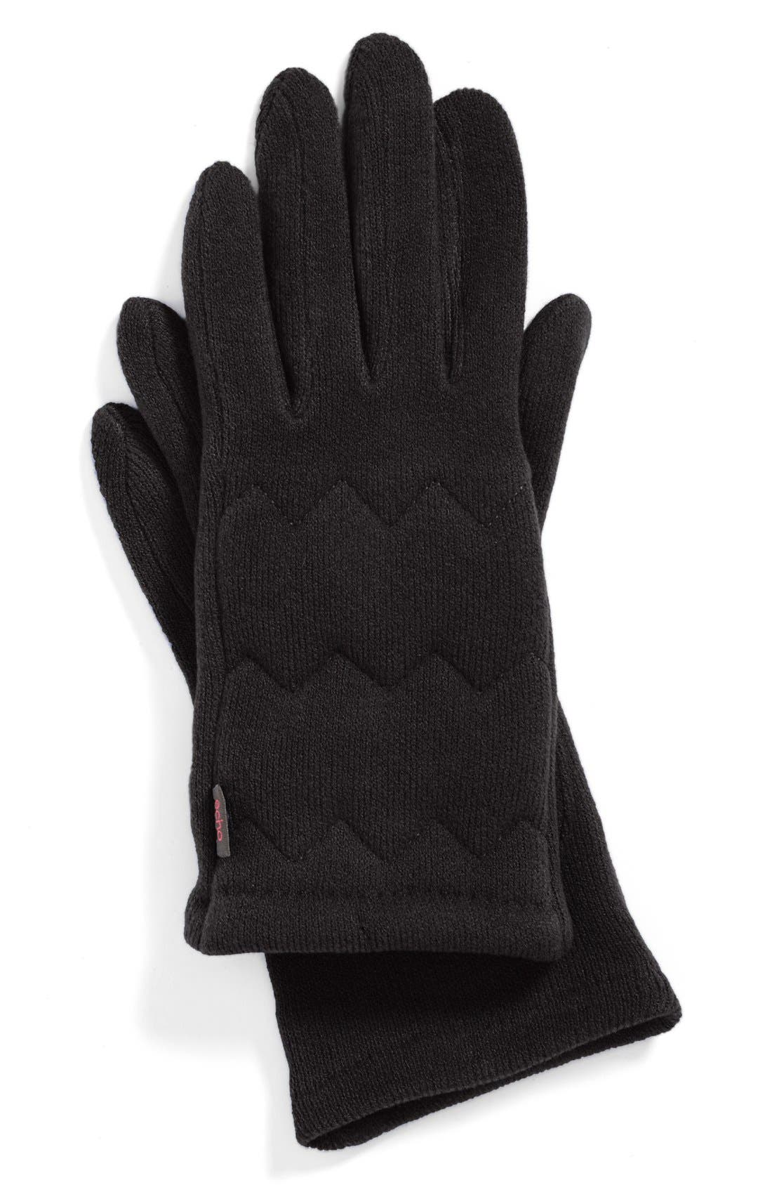 Alternate Image 2  - Echo 'Touch Milk' Quilted Gloves