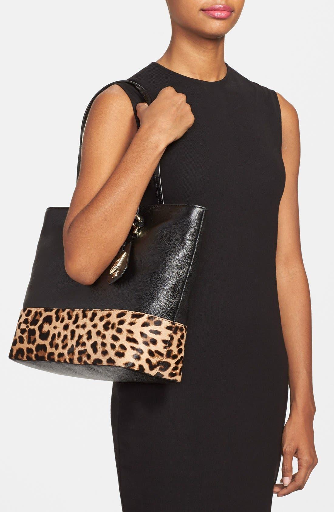 Alternate Image 2  - Diane von Furstenberg 'Sutra Ready to Go' Leather Shopper