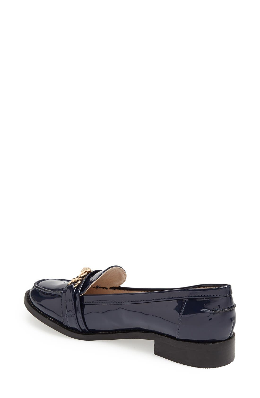 Alternate Image 4  - Topshop 'Latch' Trim Loafer (Women)
