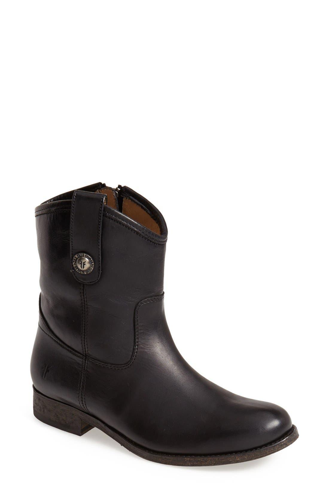 Main Image - Frye 'Melissa Button' Short Boot (Women)
