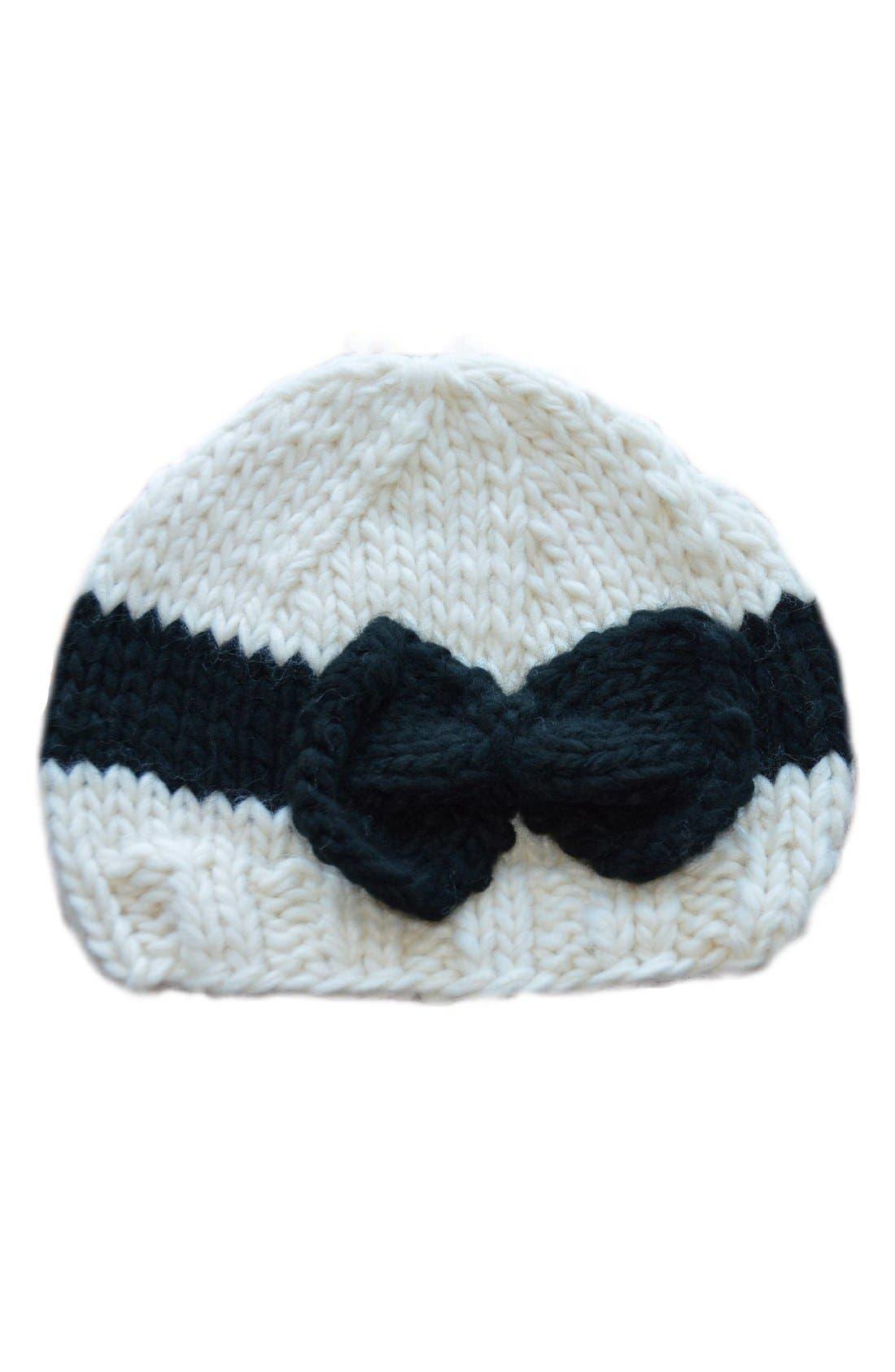 Blueberry Hill 'Sabrina' Knit Cap (Baby Girls)