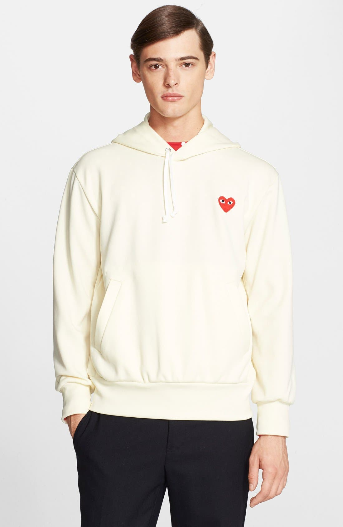 Alternate Image 1 Selected - Comme des Garçons PLAY Pullover Hoodie