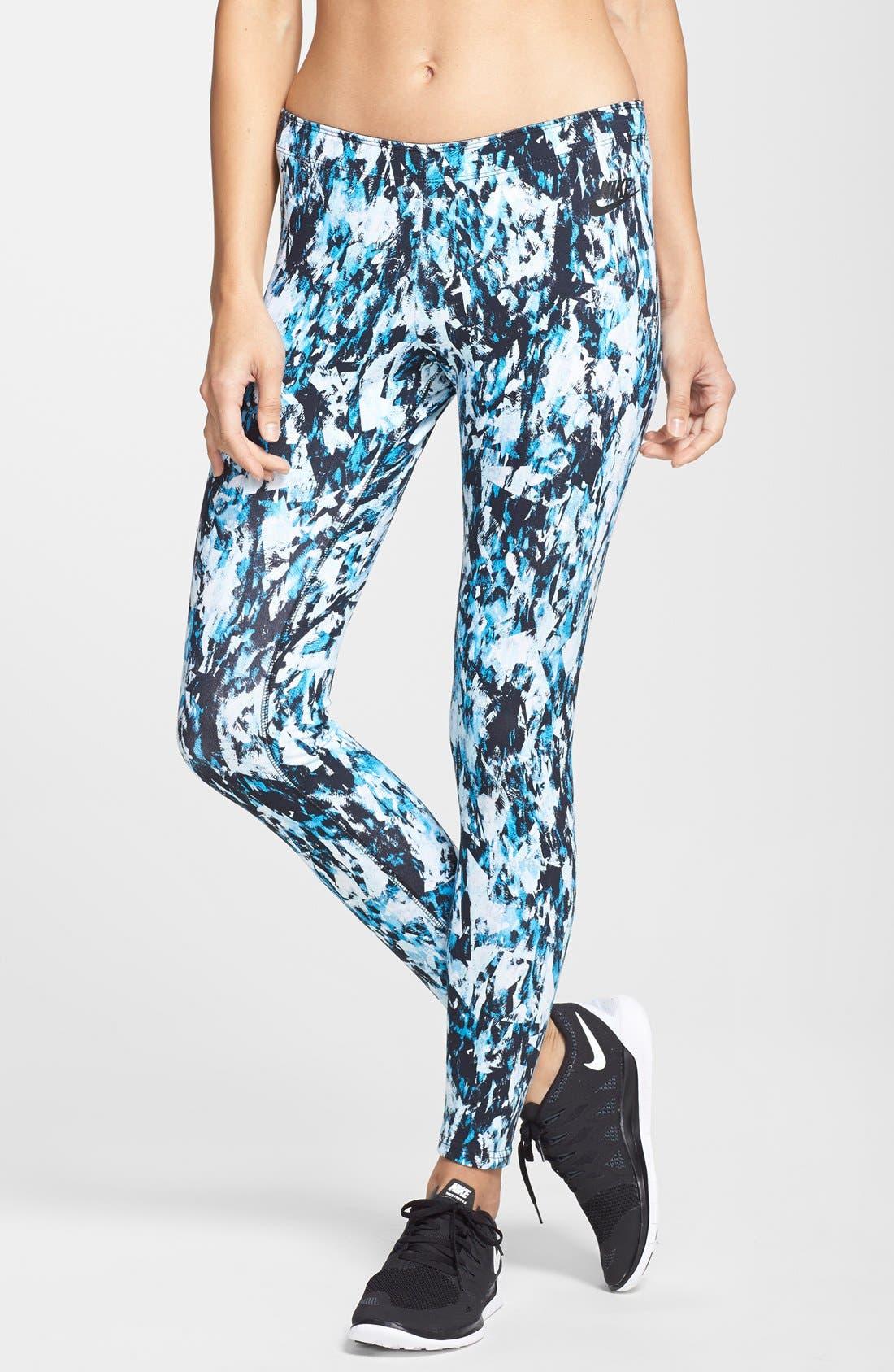 Main Image - Nike 'Leg-A-See Mishmash' Leggings