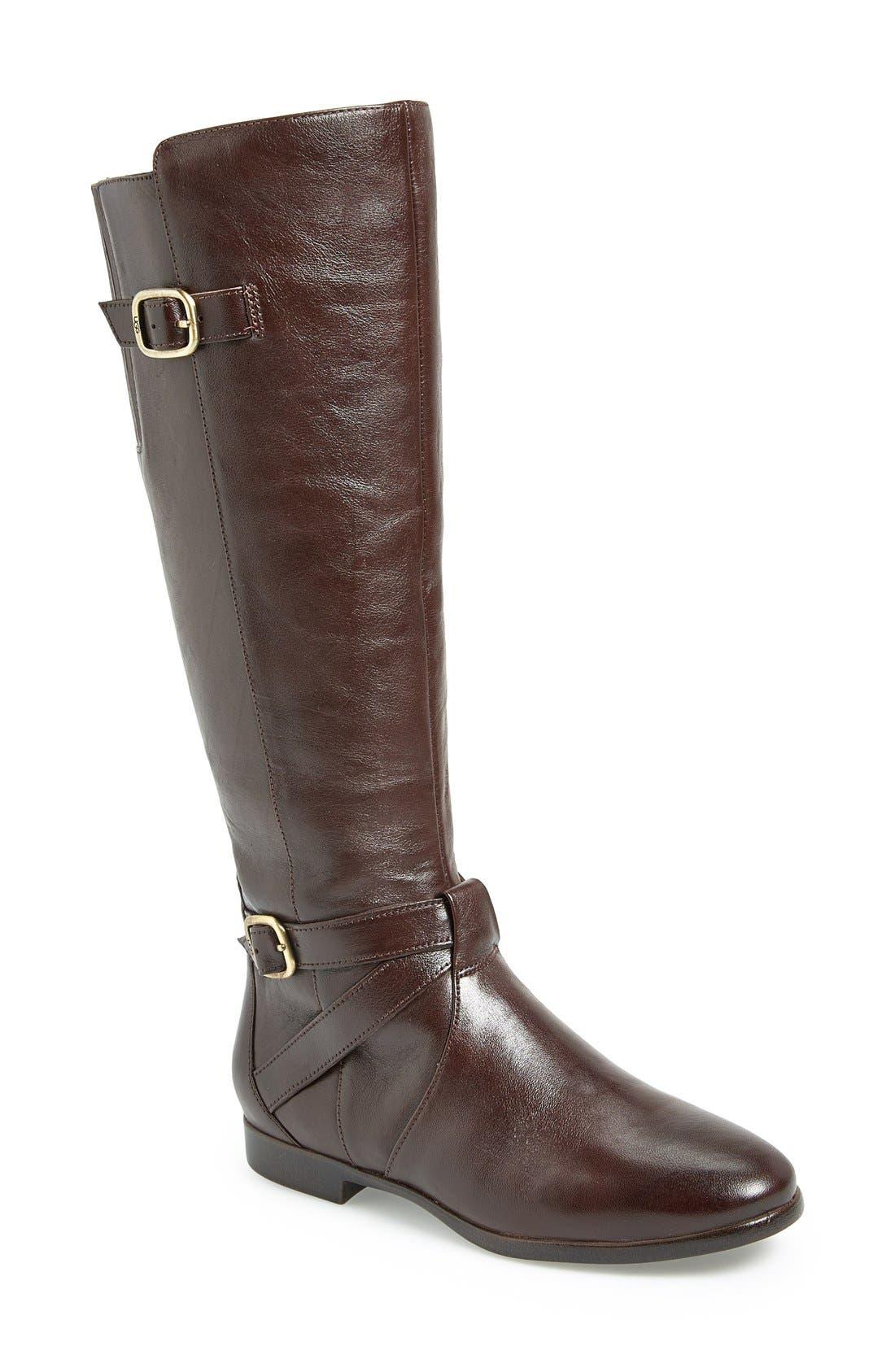 Alternate Image 1 Selected - UGG® Australia 'Beryl' Riding Boot (Wide Calf) (Women)