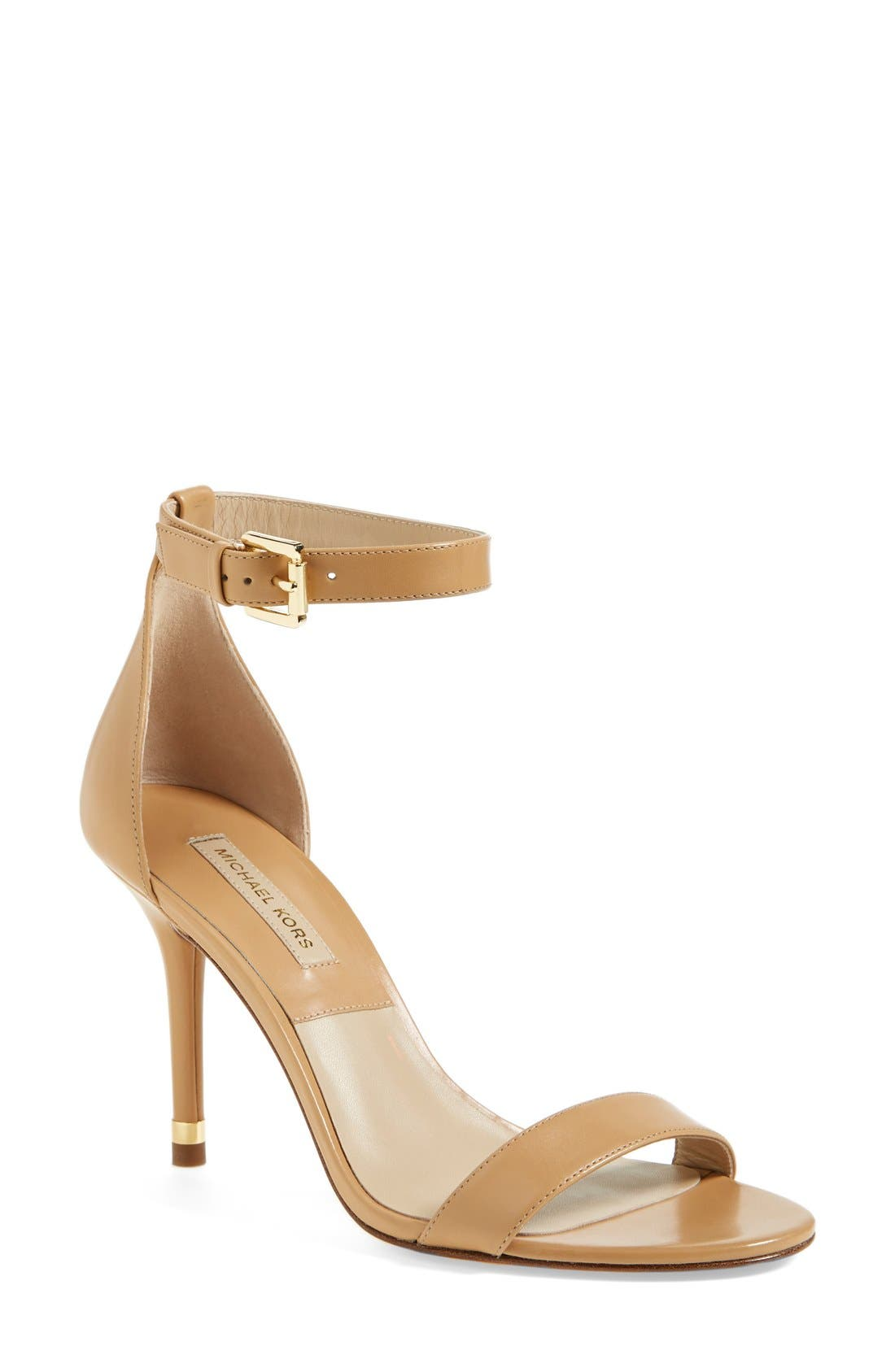 Alternate Image 1 Selected - KORS Michael Kors 'Suri' Leather Sandal (Women)