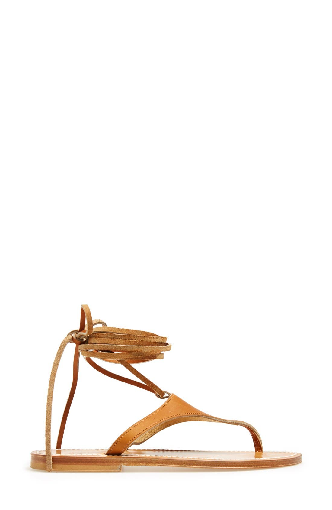 Alternate Image 4  - K.Jacques St. Tropez Ankle Wrap Thong Sandal (Women)