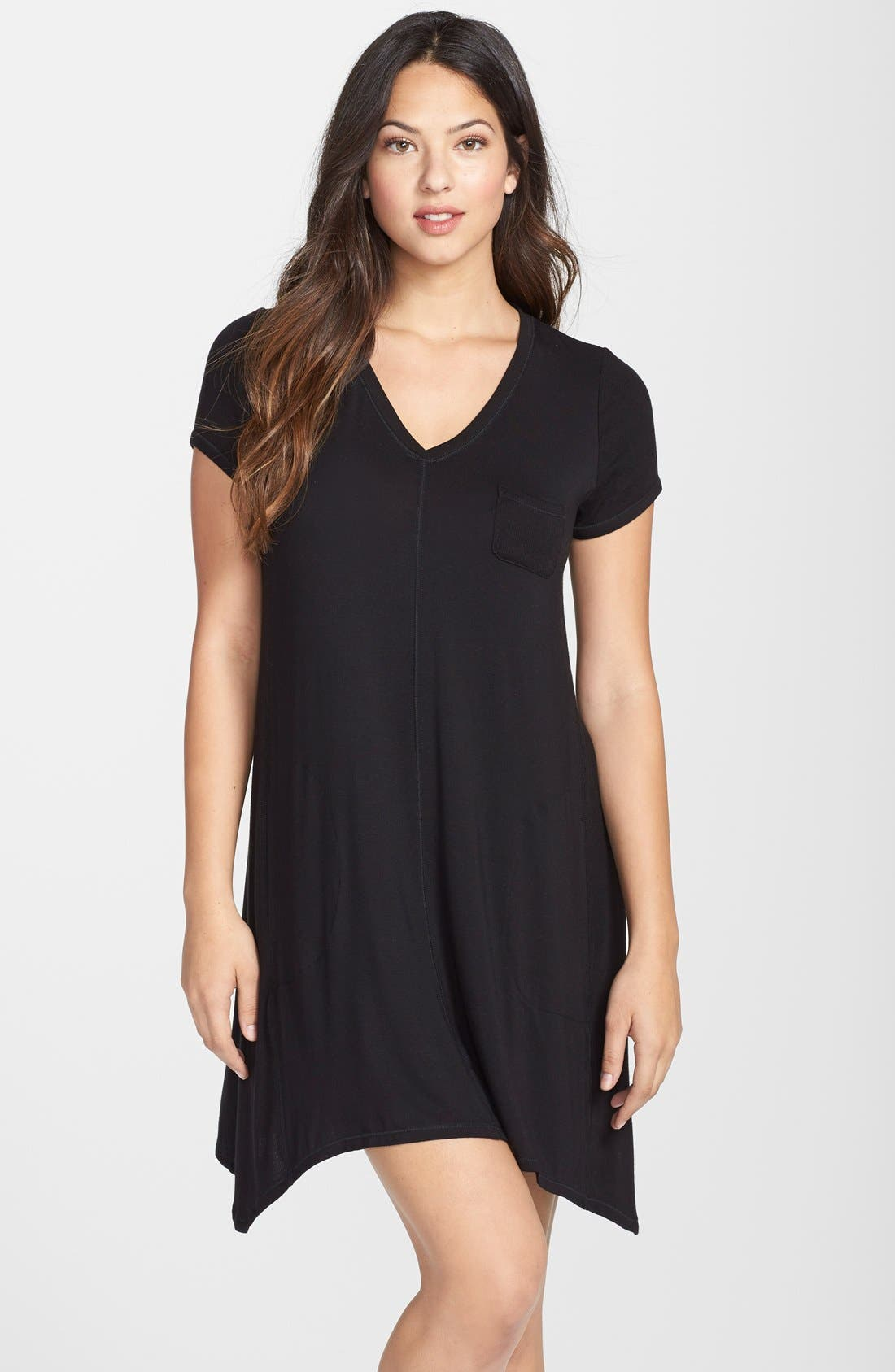 Alternate Image 1 Selected - DKNY 'Urban Essentials' Stretch Modal Sleep Shirt
