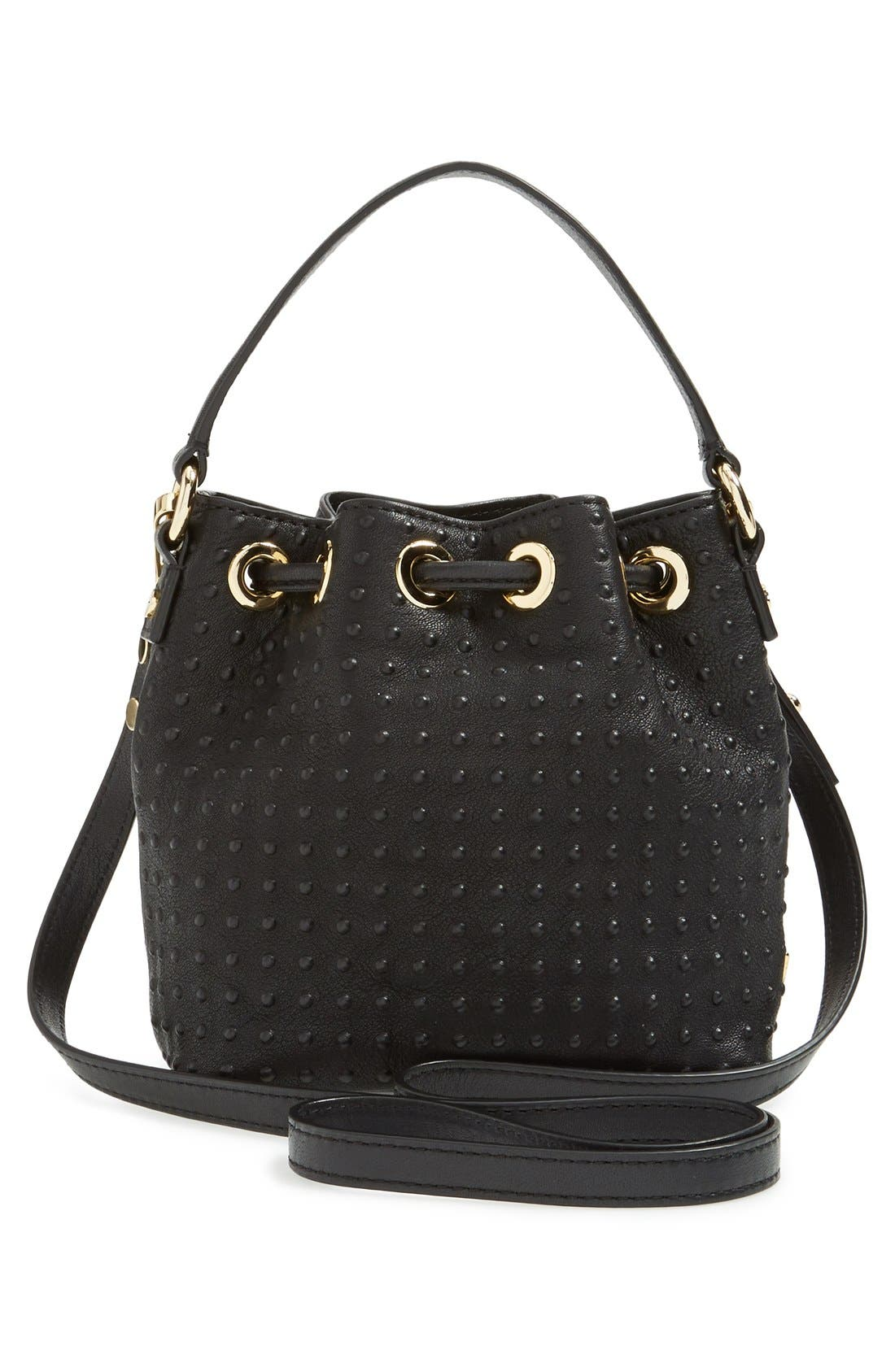 Alternate Image 3  - Milly 'Mini Perry' Drawstring Bucket Bag
