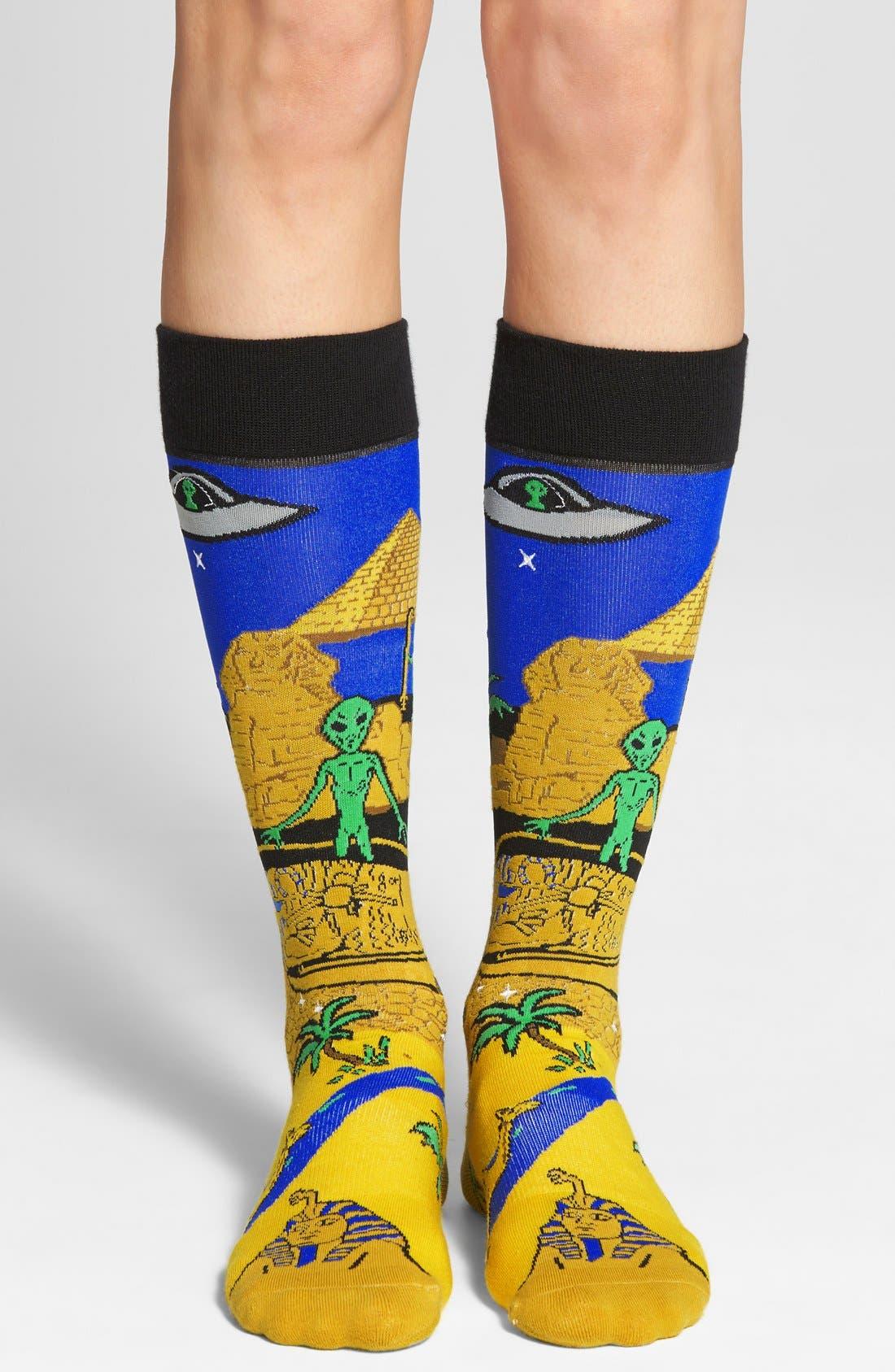 Alternate Image 2  - Stance 'Egypt & Aliens' Socks
