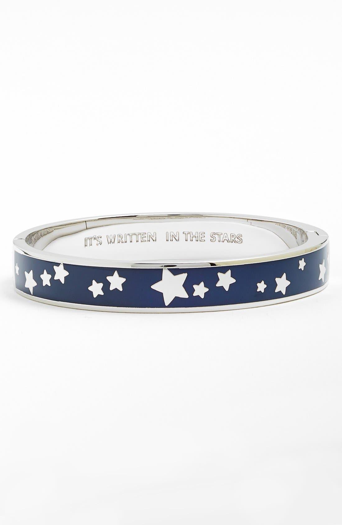 Alternate Image 1 Selected - kate spade new york 'idiom - it's written in the stars' enamel bangle