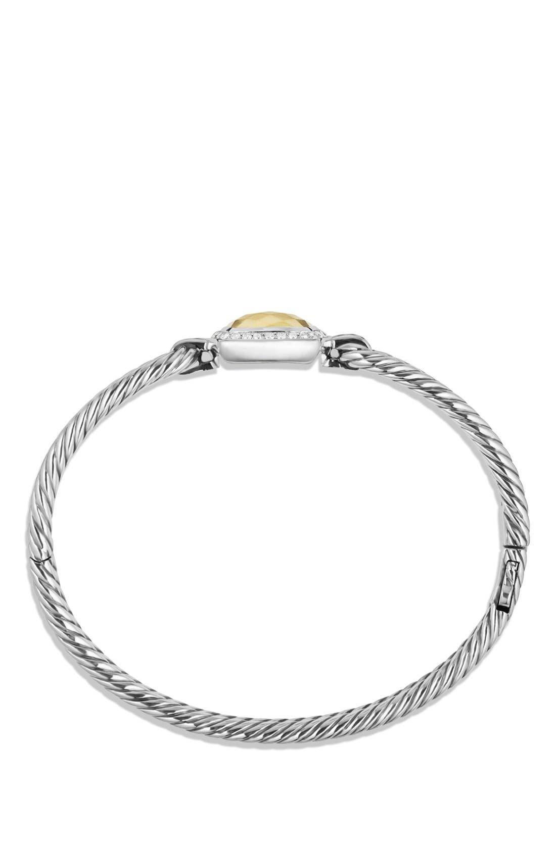 Alternate Image 2  - David Yurman 'Albion' Bracelet with Diamonds and Gold