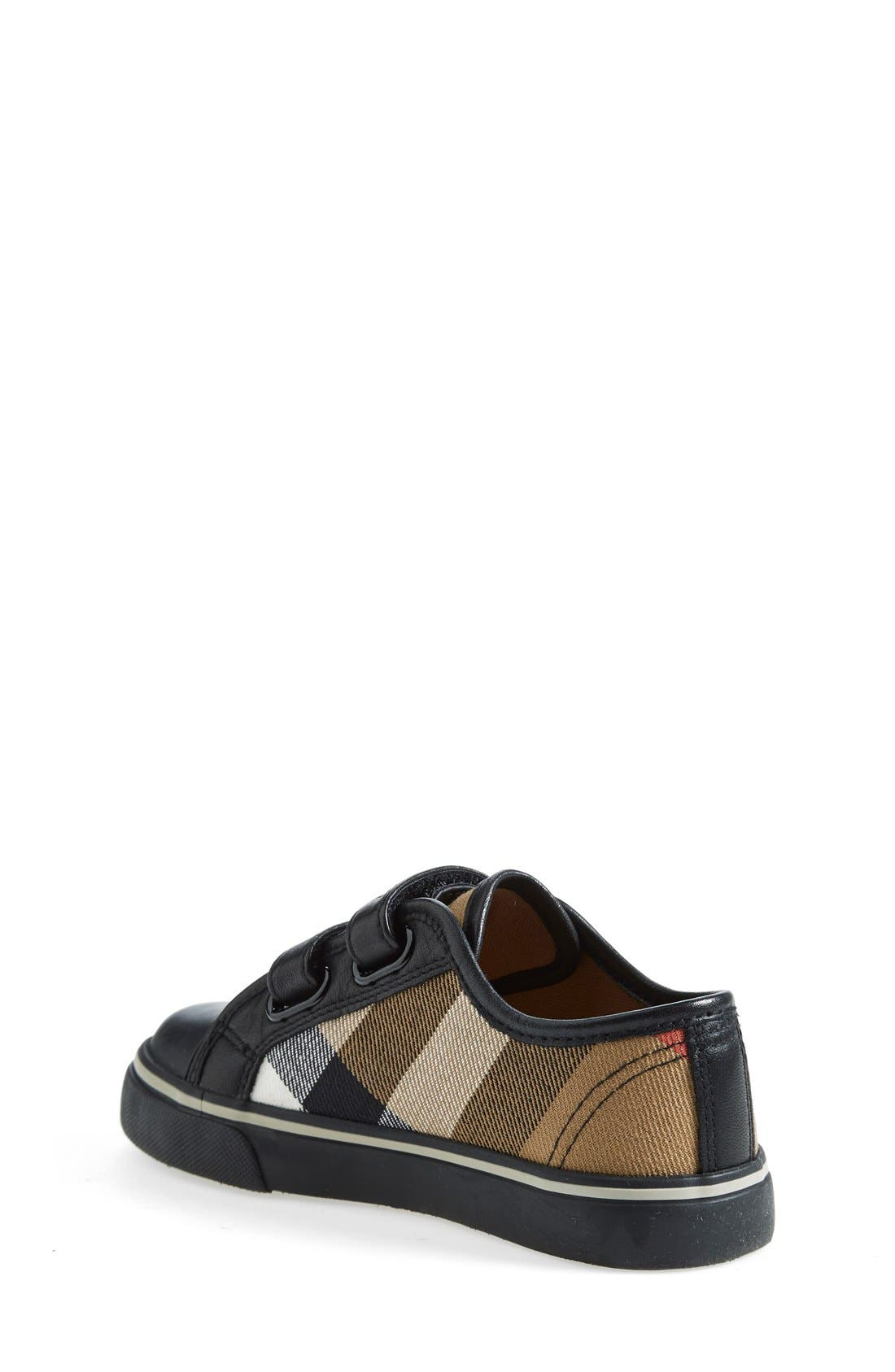 Alternate Image 2  - Burberry 'Pete' Sneaker (Baby, Walker, Toddler &  Little Kid)
