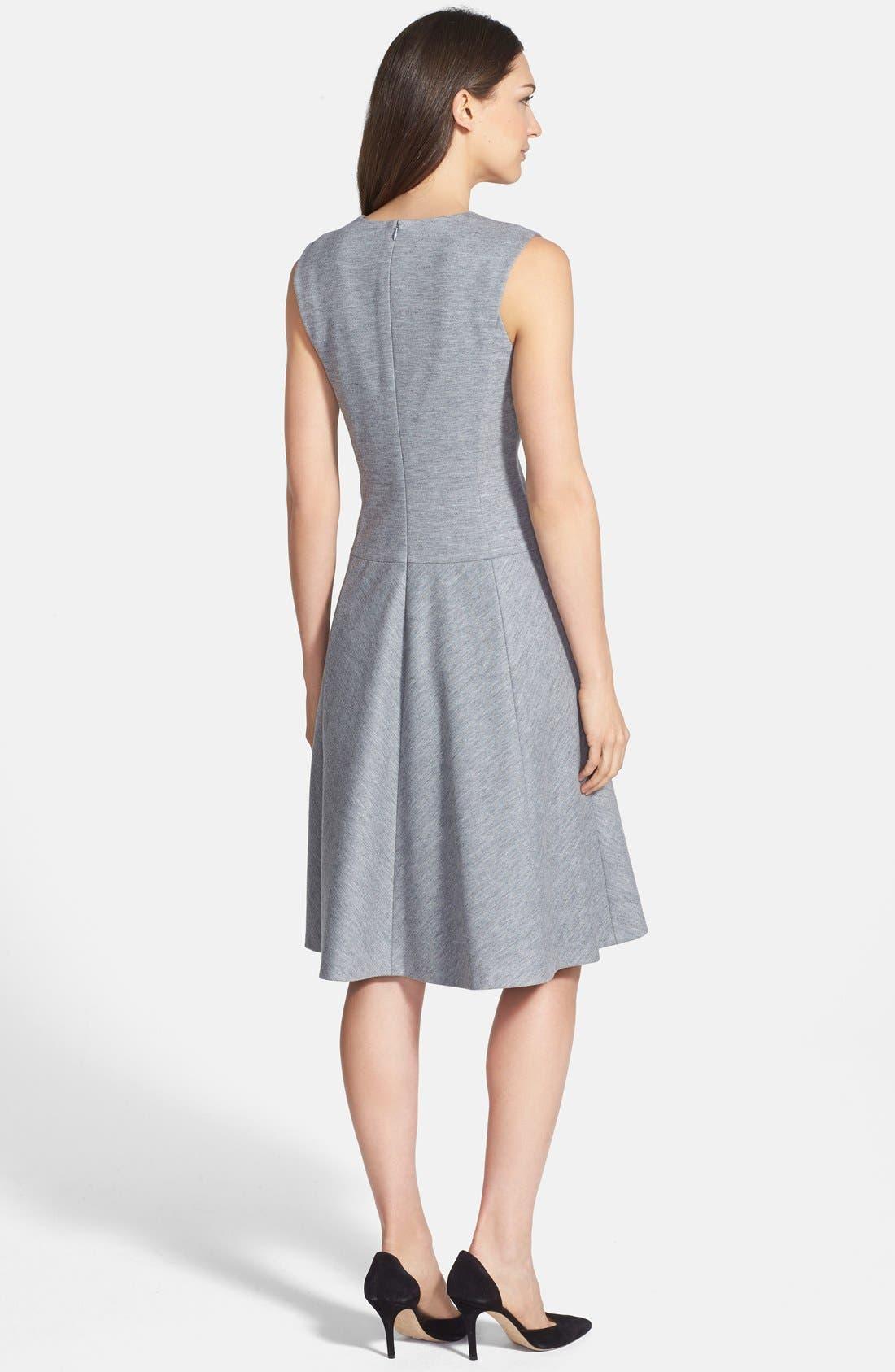 Alternate Image 2  - Classiques Entier® 'Blackwood Jersey' Fit & Flare Dress