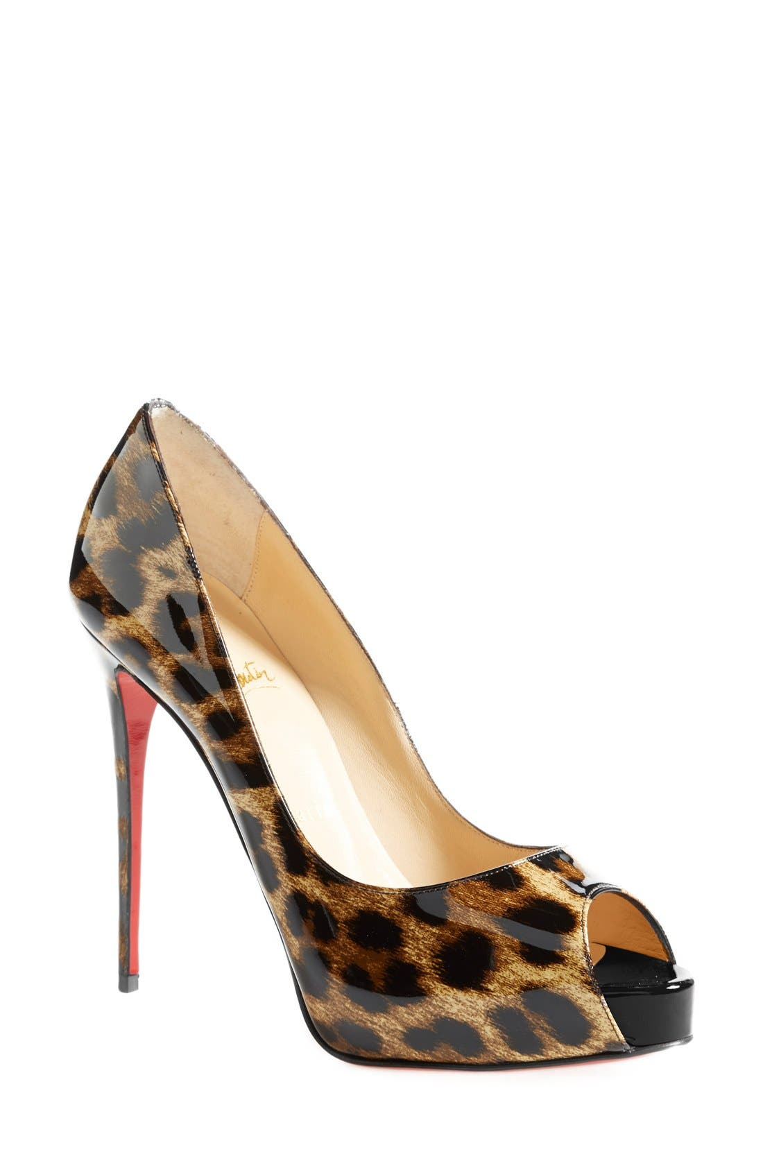Alternate Image 1 Selected - Christian Louboutin 'New Very Prive' Pump