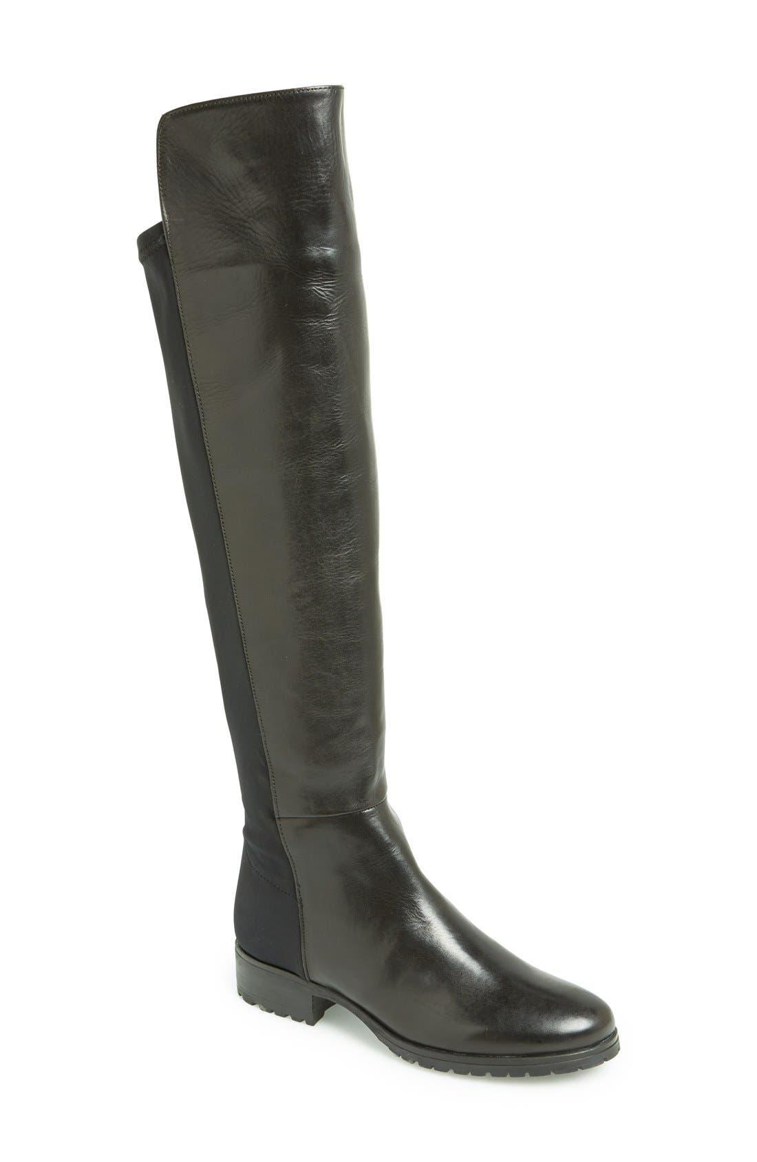 Main Image - Dune London 'Trishy' Over the Knee Boot (Women)