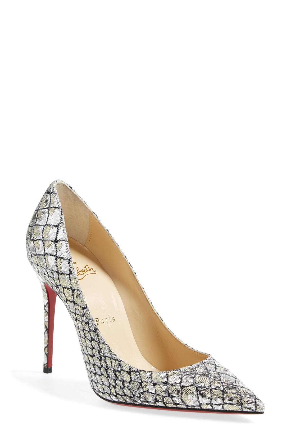 Alternate Image 1 Selected - Christian Louboutin 'Decollete' Pointy Toe Pump