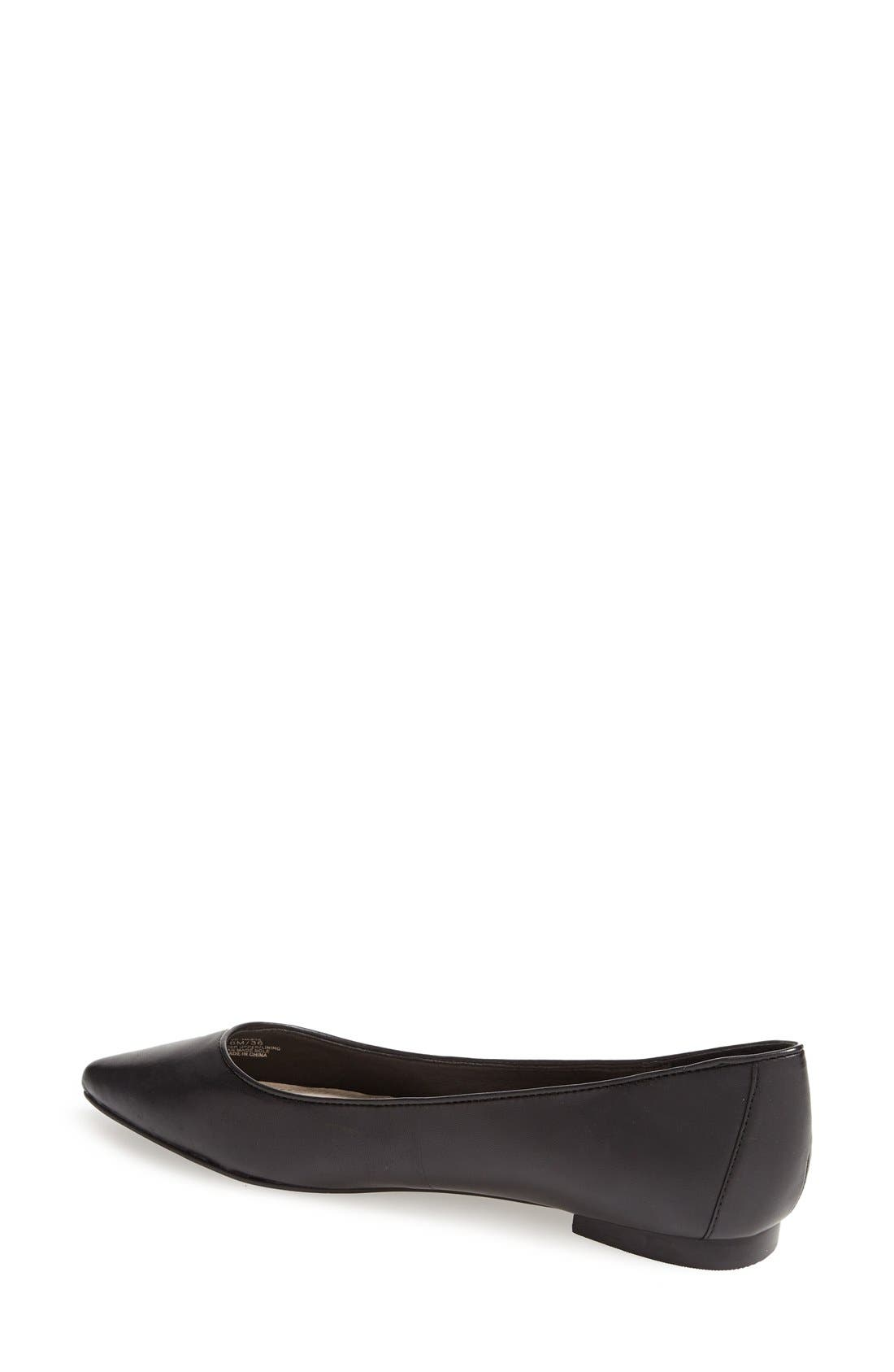 Alternate Image 2  - Vince Camuto 'Hasse' Pointy Toe Flat (Women)