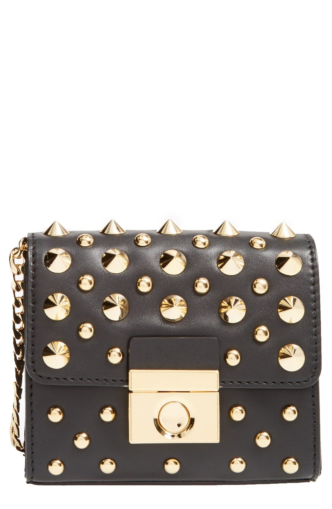 Alternate Image 1 Selected - Milly 'Mini Sienna - Studs' Convertible Crossbody Clutch