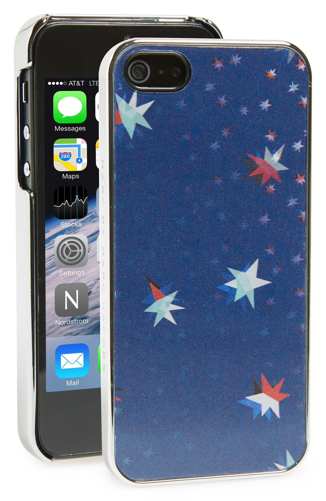 Alternate Image 1 Selected - MARC BY MARC JACOBS 'Twinkle Stars' Lenticular iPhone 5 & 5s Case
