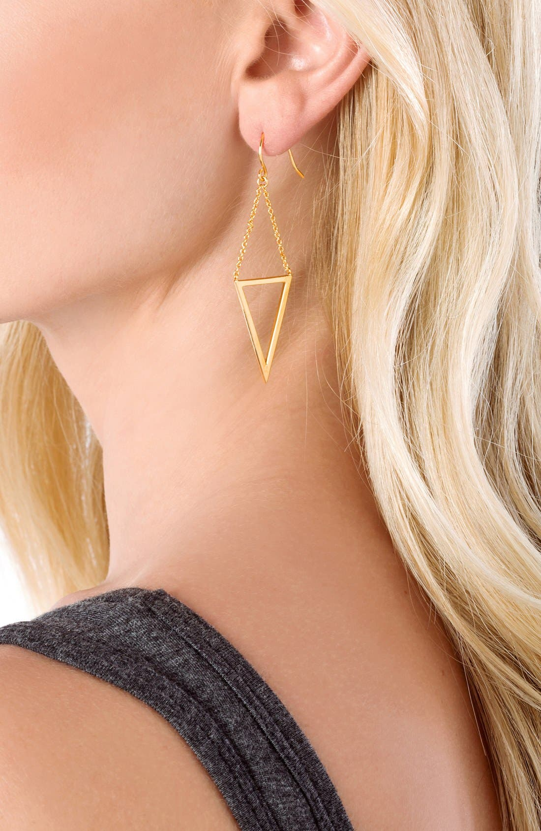 Alternate Image 2  - gorjana 'Mika' Cutout Drop Earrings