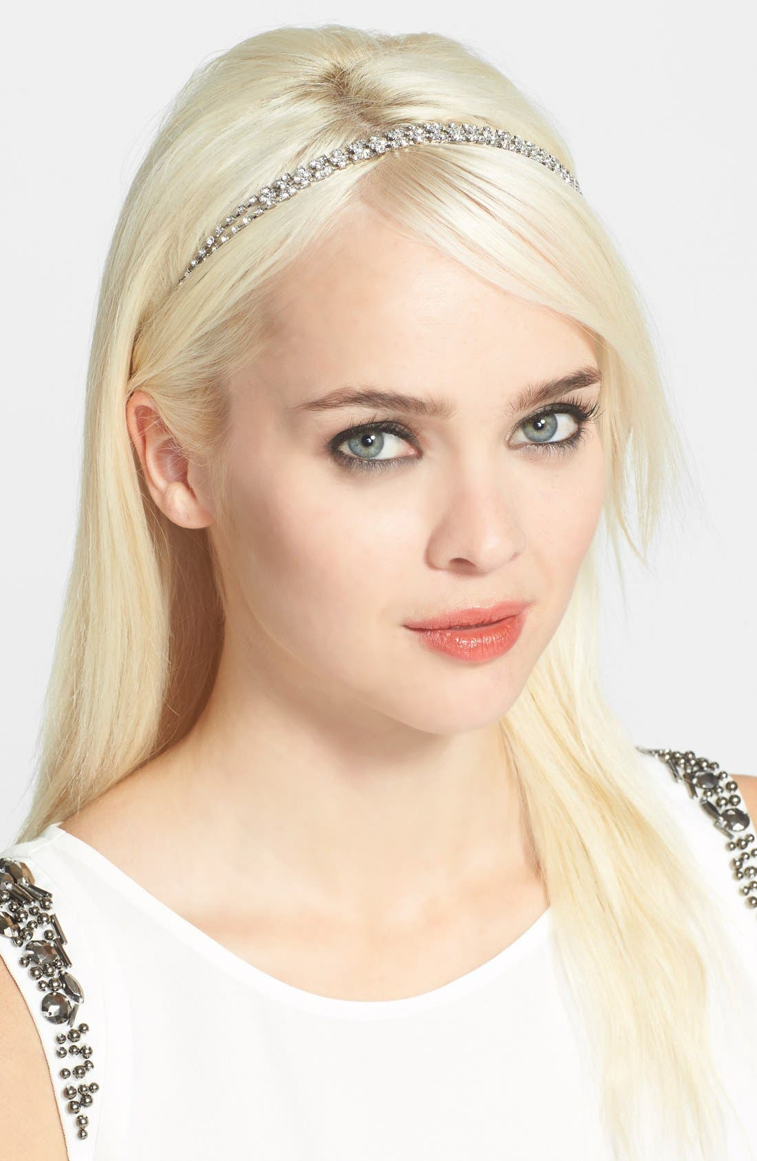 Alternate Image 1 Selected - Cara Strands of Jewels Headband