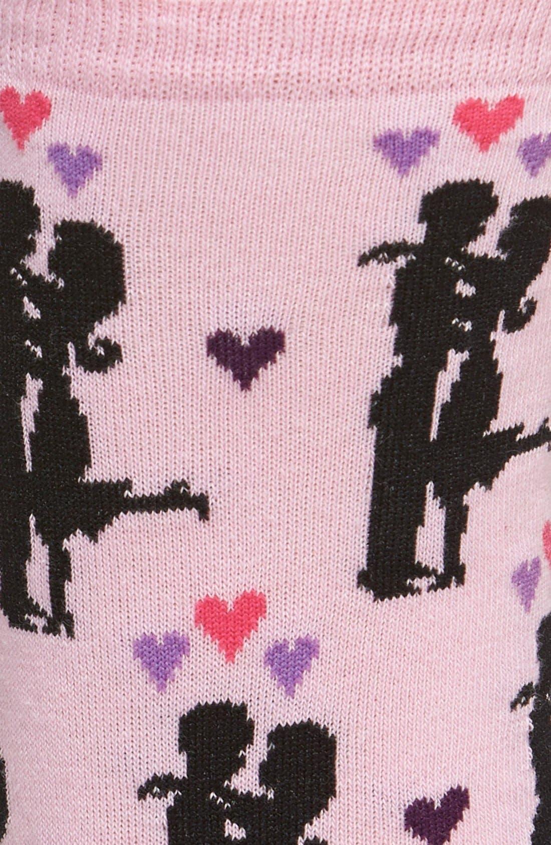 Alternate Image 2  - Hot Sox 'Happy Couple' Socks