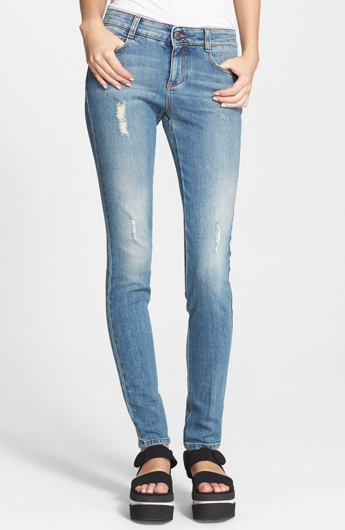 Alternate Image 1 Selected - Stella McCartney 'The Skinny Long' Jeans