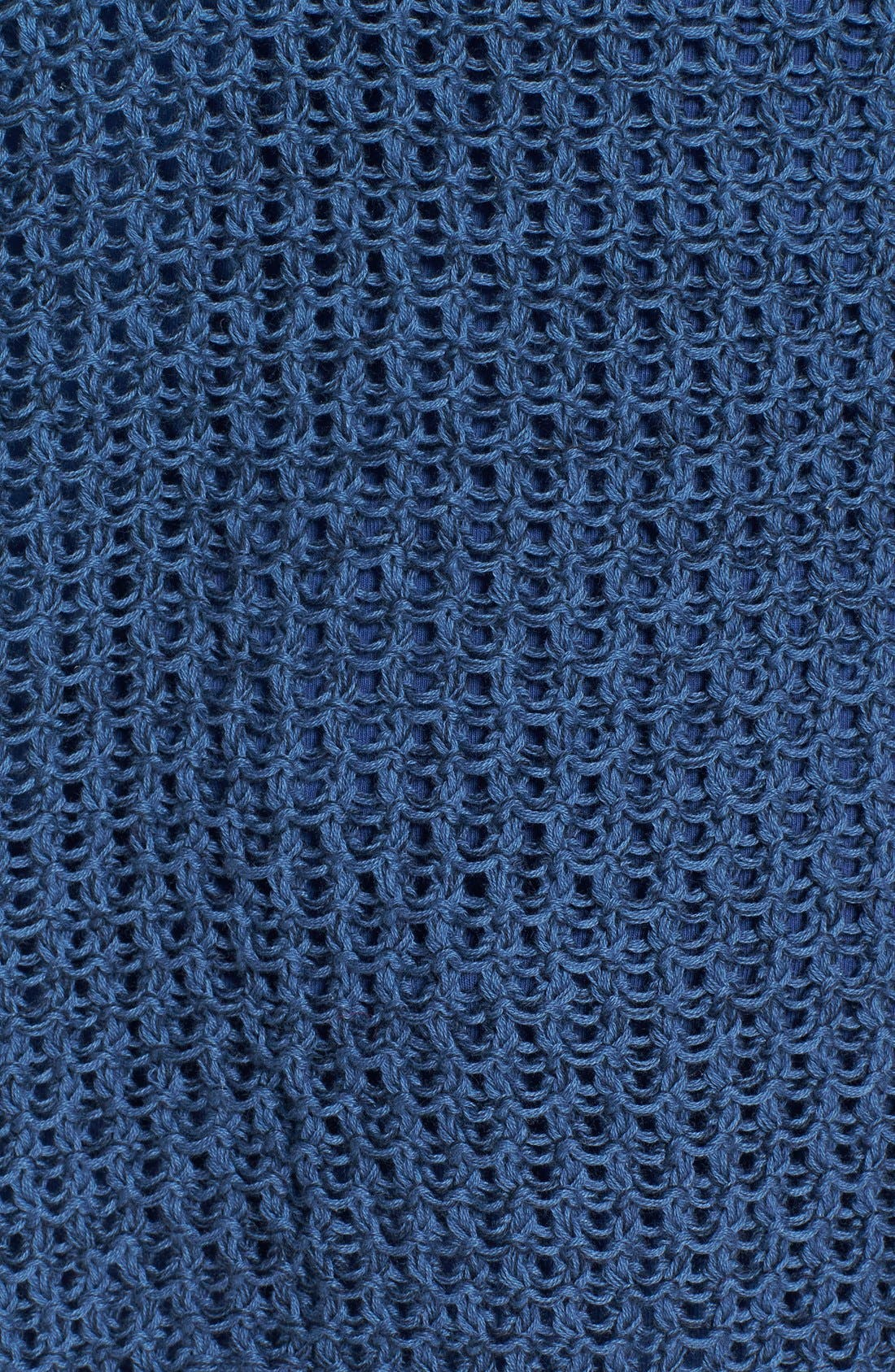 Alternate Image 3  - Dex High/Low Hem Open Stitch Sweater
