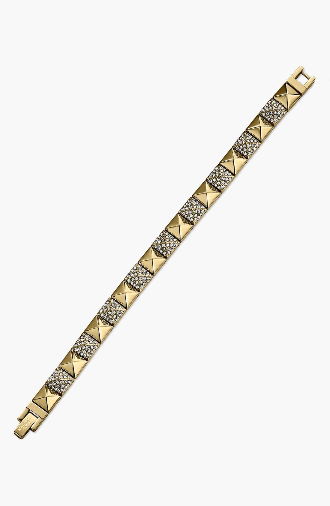 Alternate Image 2  - Michael Kors Pyramid Stud Line Bracelet