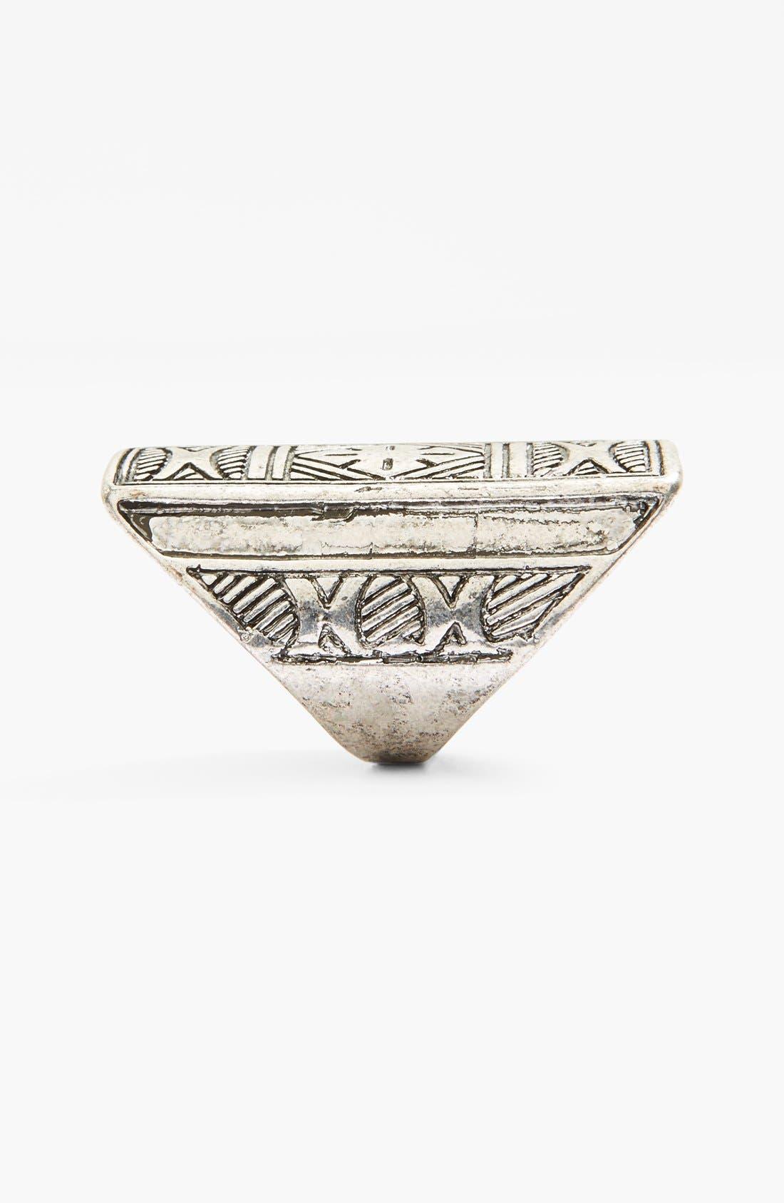 Alternate Image 2  - Spring Street Shield Ring