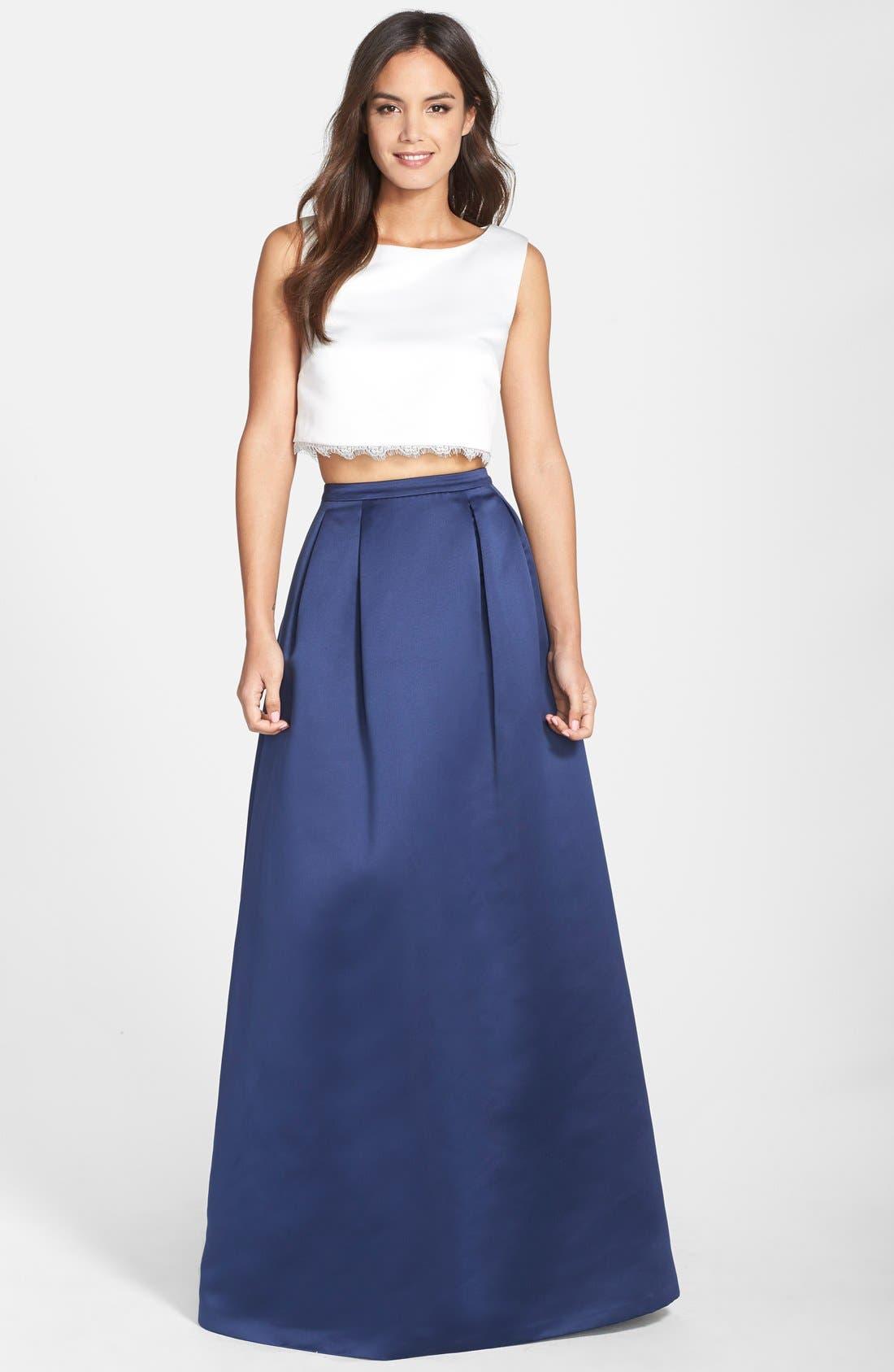 Alternate Image 3  - ERIN erin fetherston 'Jacqueline' Peau de Soie Ball Skirt