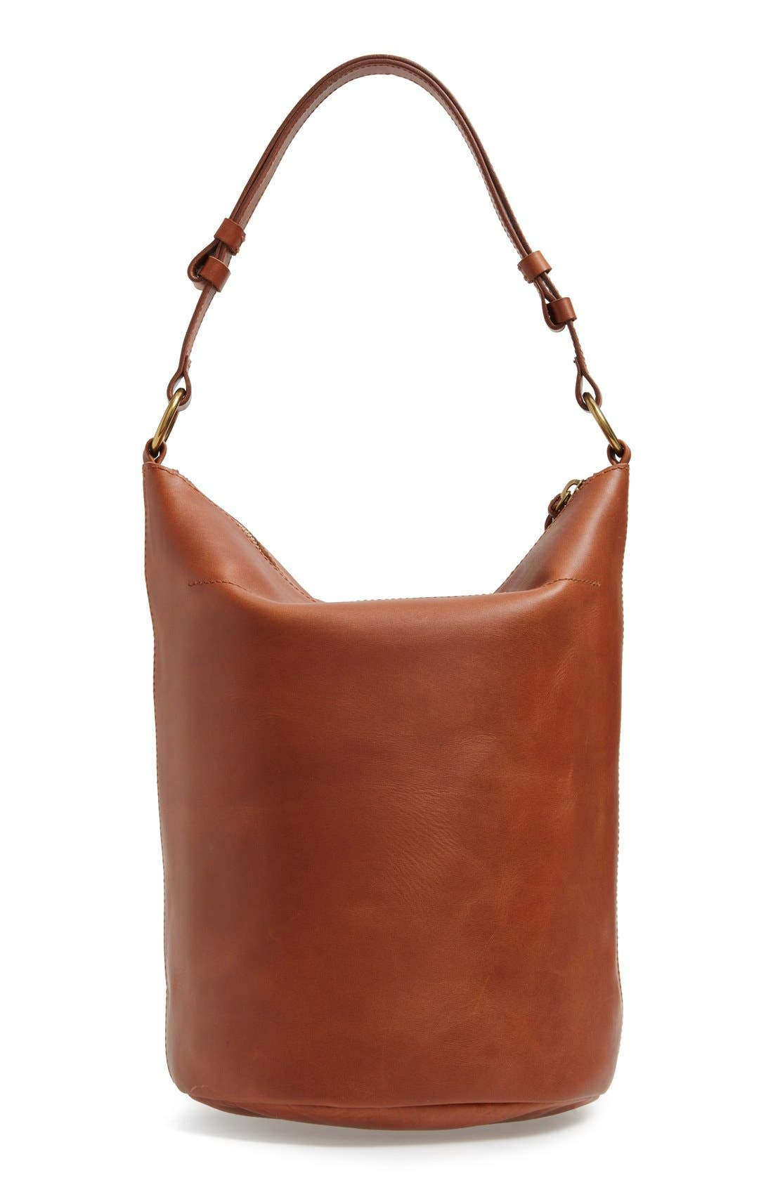 Alternate Image 3  - Madewell O-Ring Leather Bucket Bag