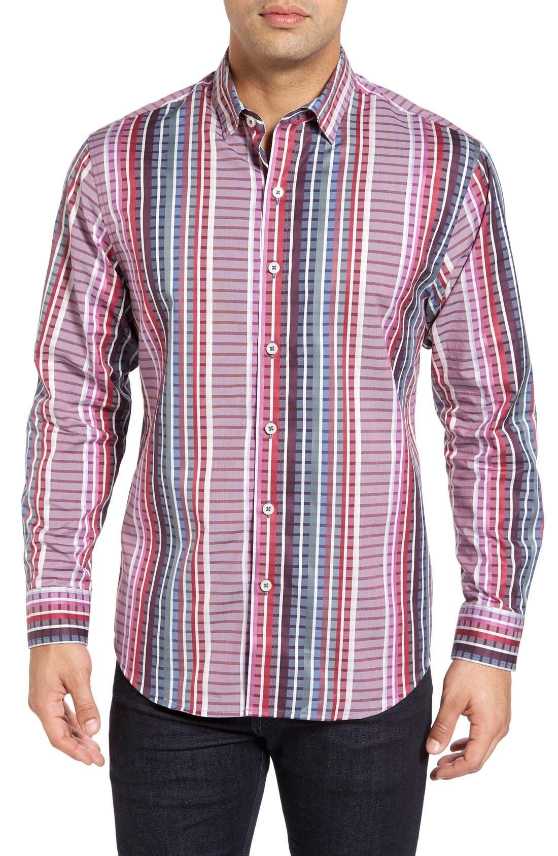 Tommy Bahama Silva Stripe Sport Shirt