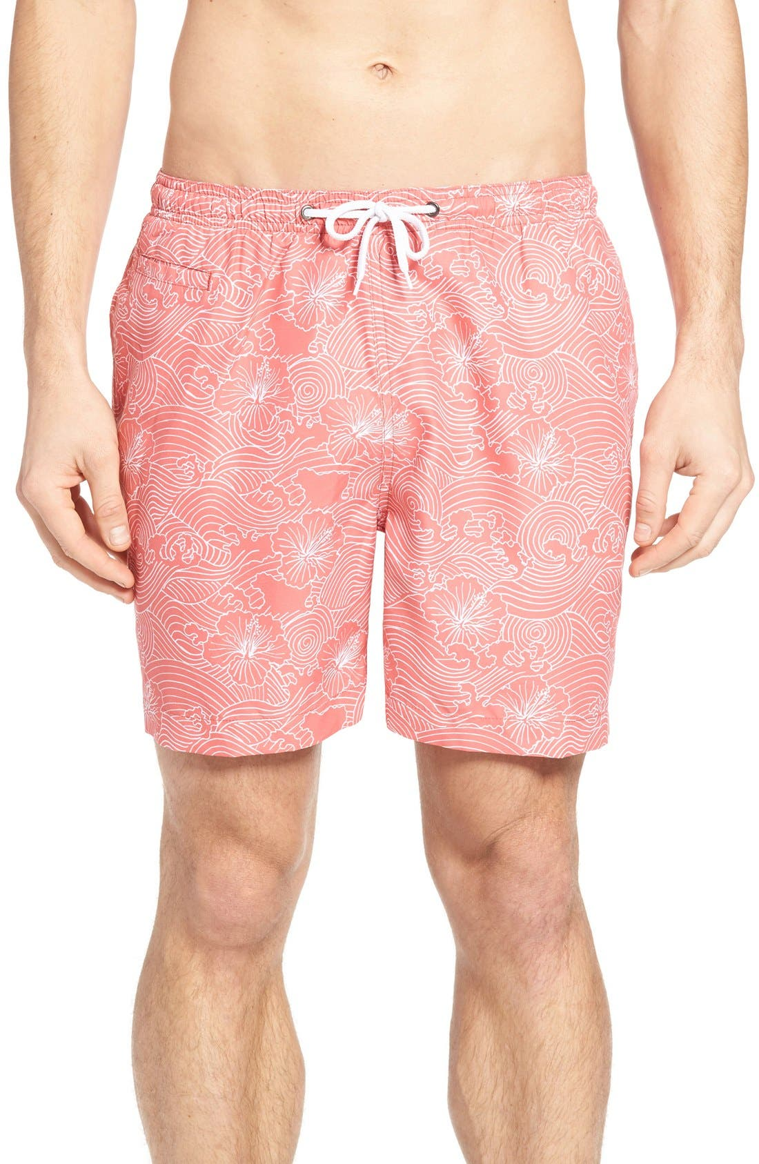 Trunks Surf & Swim Co. Hanagawa Wave San O Swim Trunks