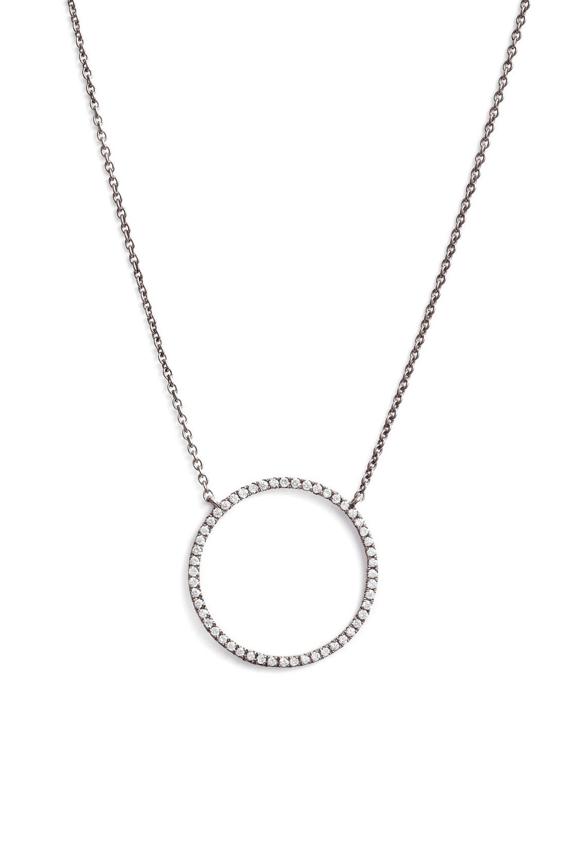 BONY LEVY 'Simple Obsessions' Circle Pendant Necklace