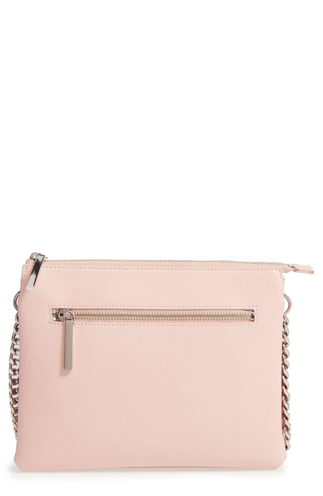 Main Image - Halogen® Leather Crossbody Bag
