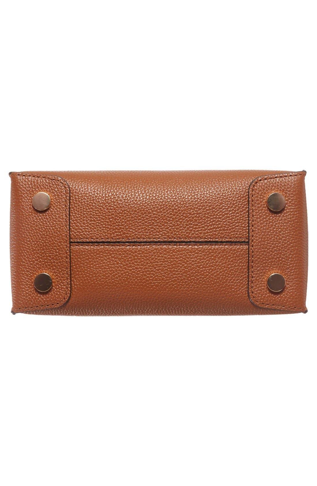 Alternate Image 6  - MICHAEL Michael Kors Mercer Leather Crossbody Bag