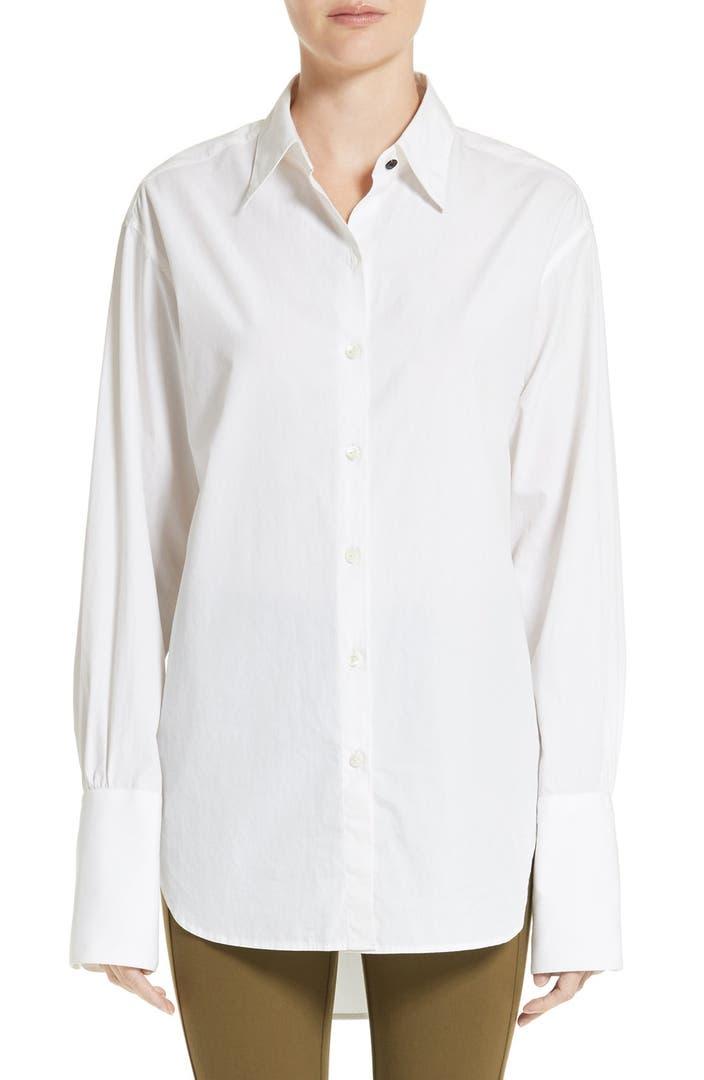 Rag bone essex poplin shirt nordstrom for What is a poplin shirt