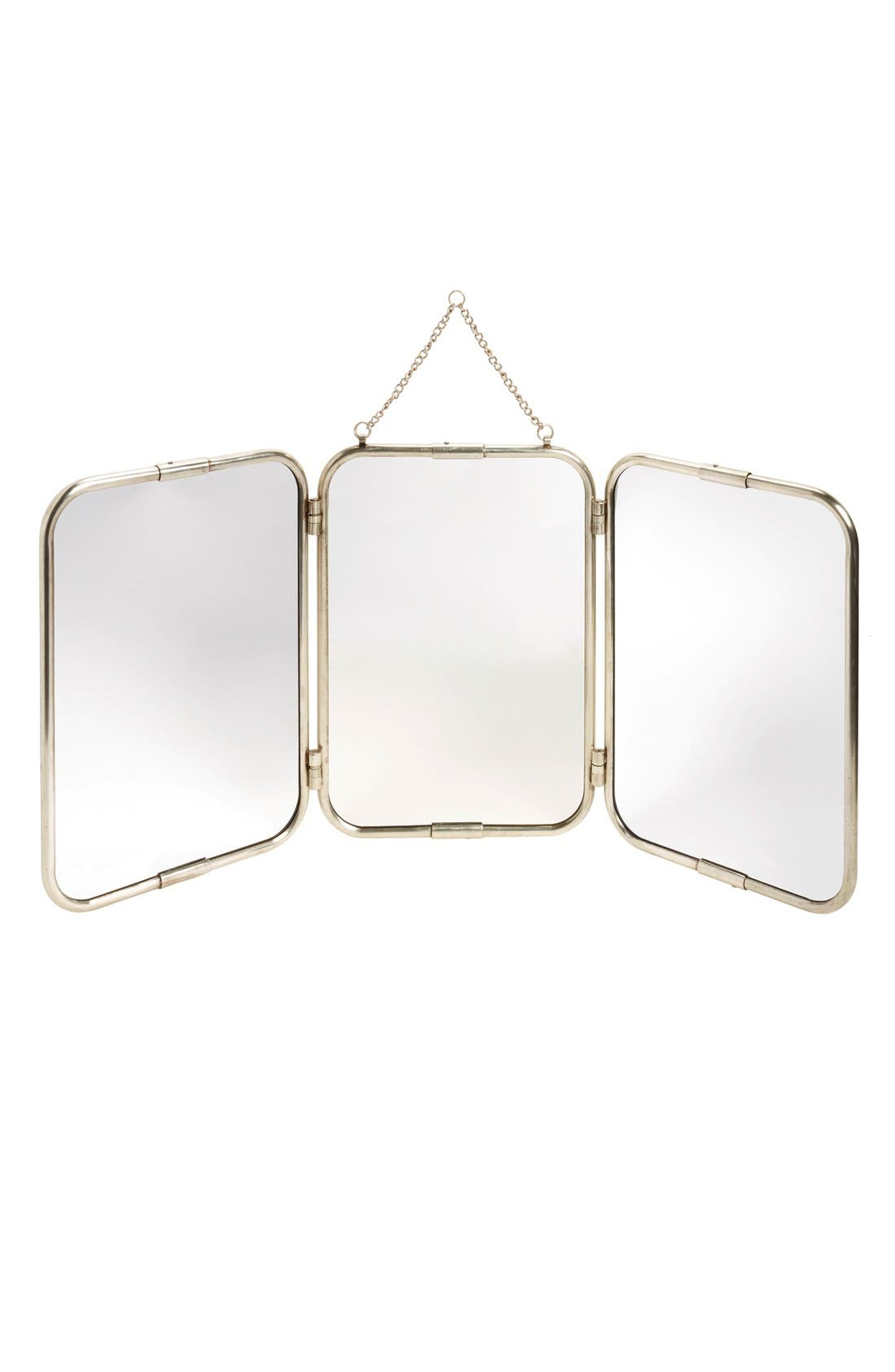 Alternate Image 1 Selected - Creative Co-Op 3-Panel Mirror