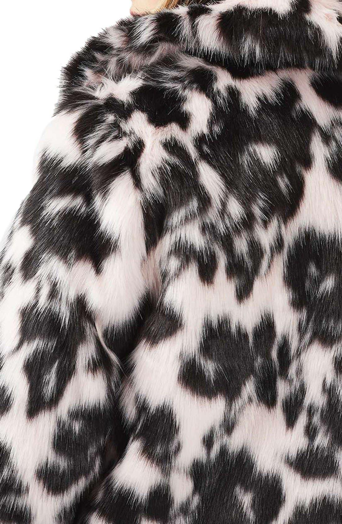 Alternate Image 6  - Topshop Sweet Dreams Faux Fur Coat