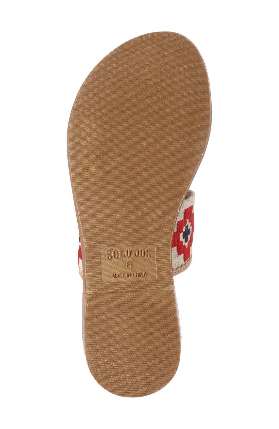Alternate Image 4  - Soludus Embroidered Slide Sandal (Women)