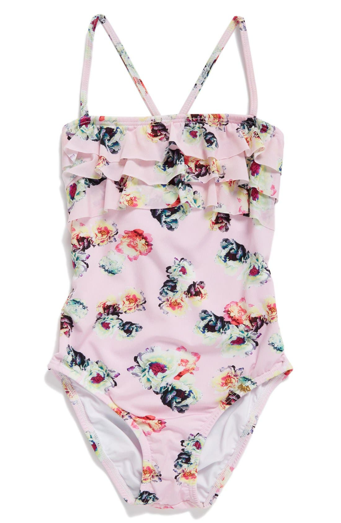 PILYQ Floral One-Piece Swimsuit
