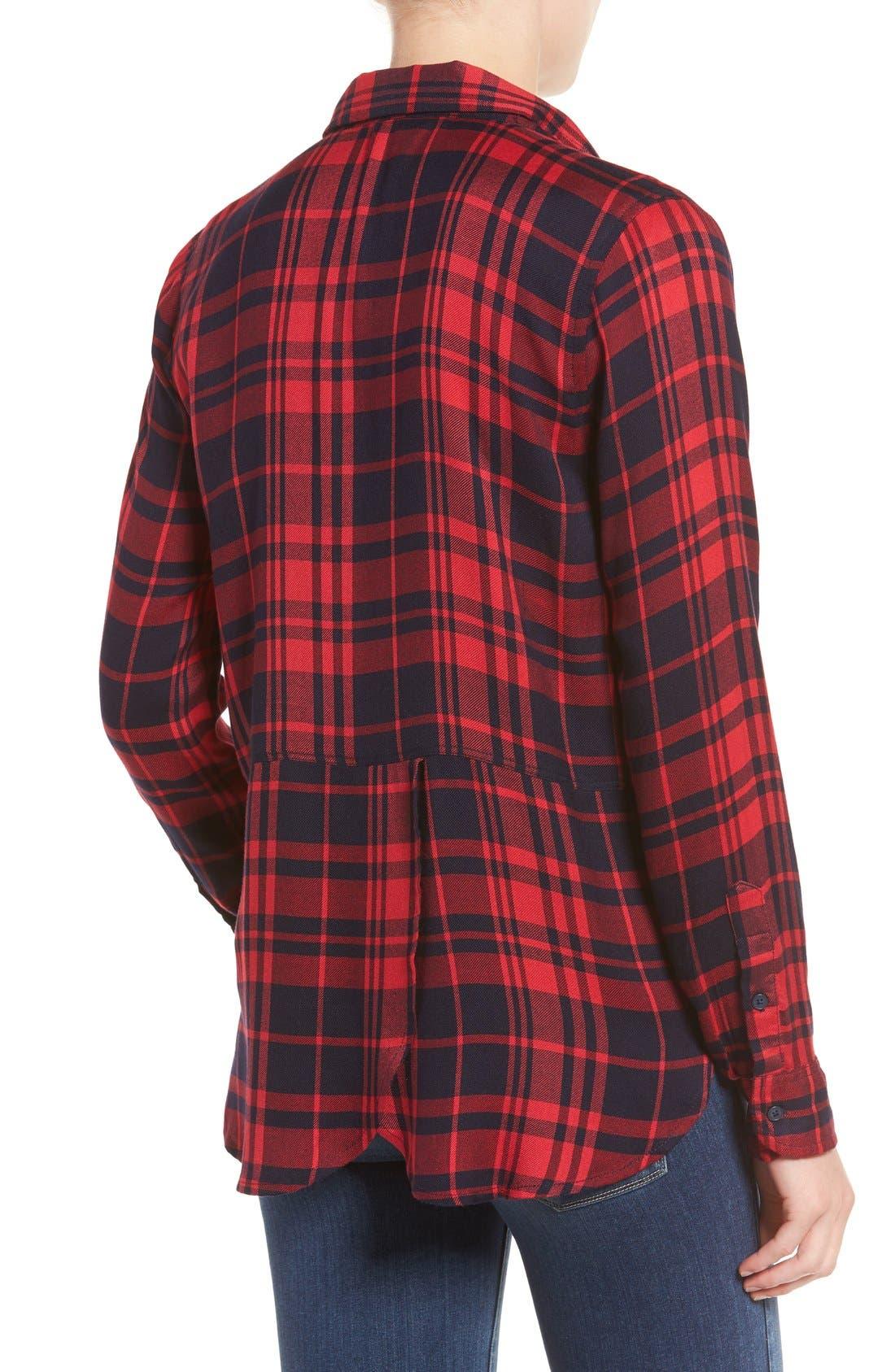 Alternate Image 2  - Lucky Brand Plaid Shirt