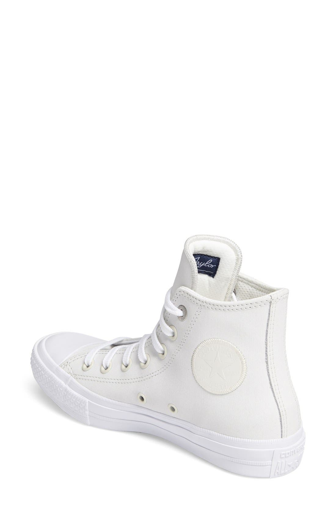 Alternate Image 2  - Converse Chuck Taylor® All Star® II Two Tone High Top Sneaker (Women)