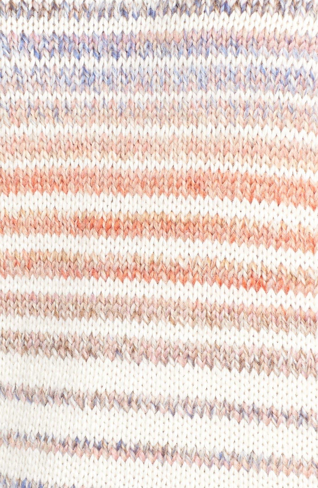 Alternate Image 5  - Rebecca Minkoff Page Stripe Cold Shoulder Sweater